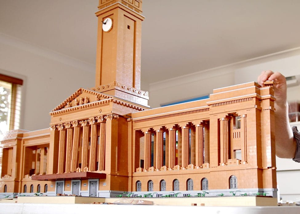 Brisbane City Hall LEGO Build