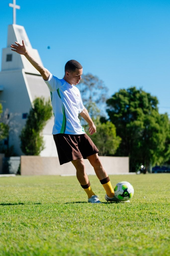 Soccer at Grace Lutheran College