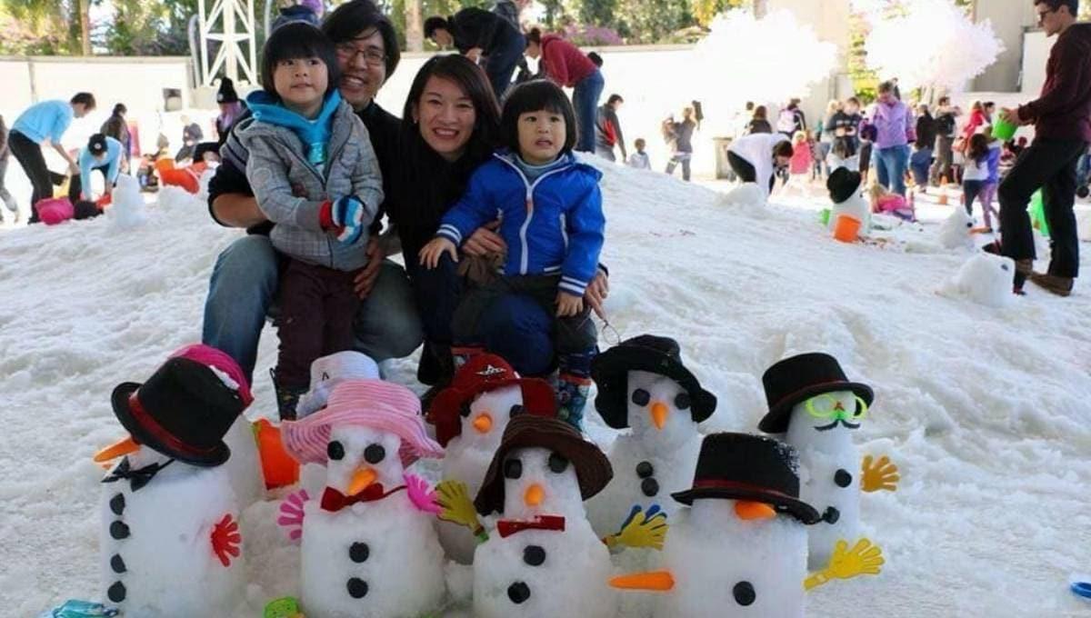 Snow4Kids Brisbane Snowman