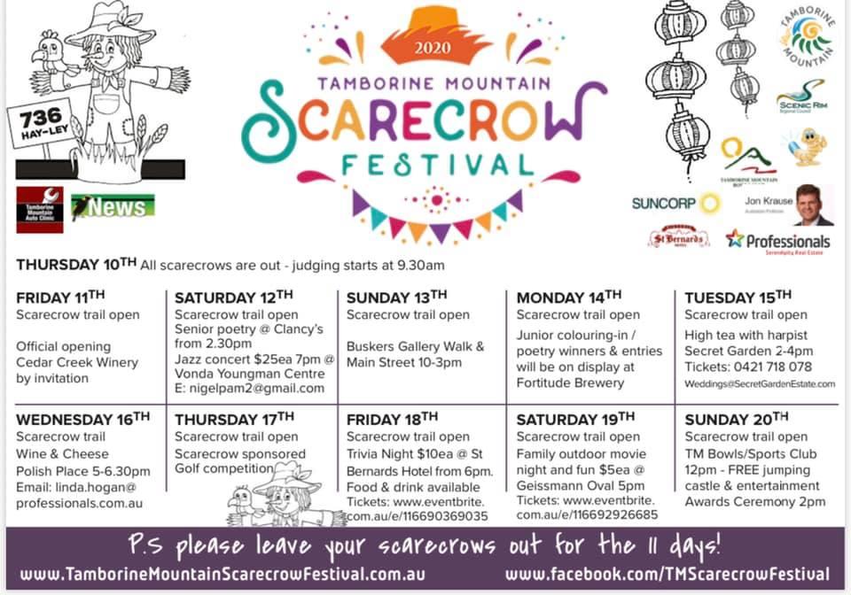 2020 Scarecrow Festival Program