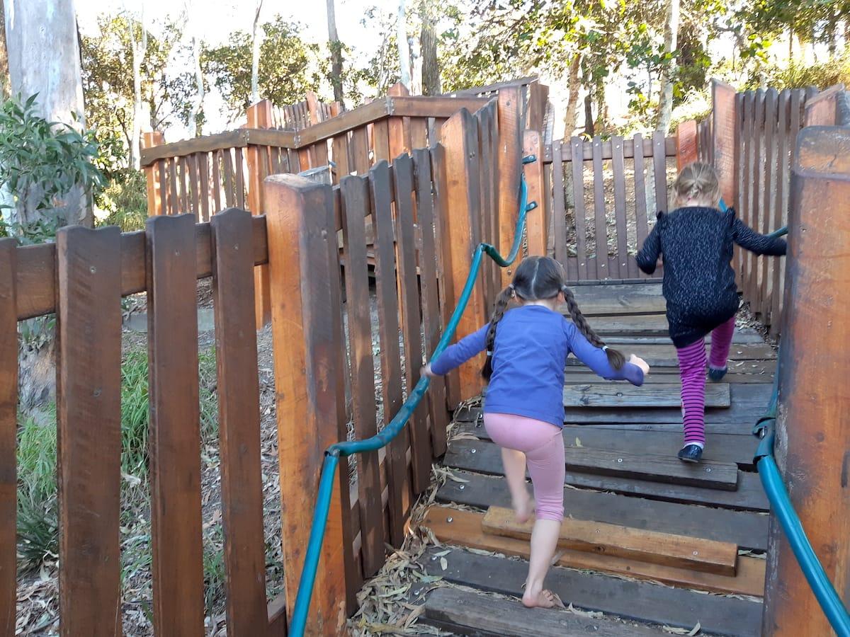 Lower Moora Park - Crazy steps 2