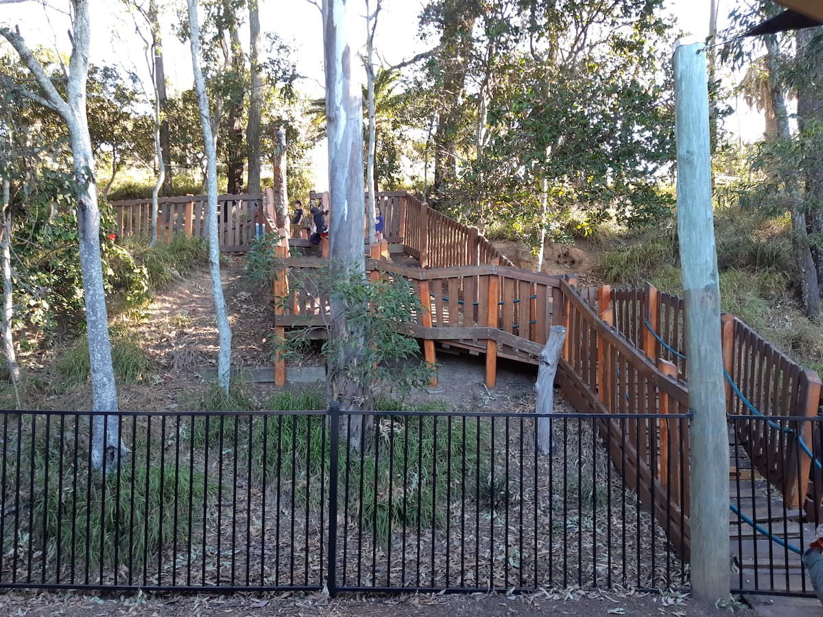 Lower Moora Park - crazy steps