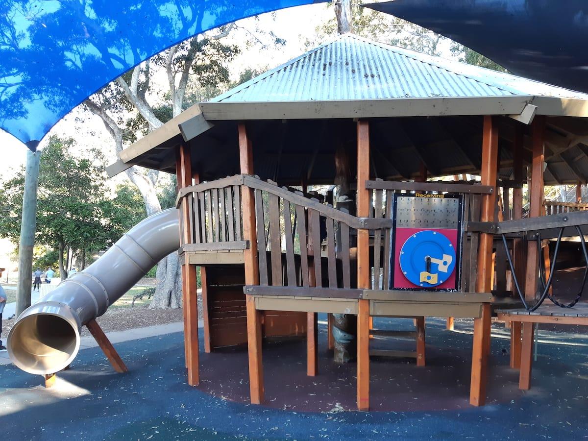 Lower Moora Park - tube slide