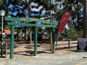 Old Petrie Town entrance