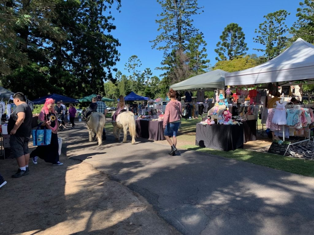 Old Petrie Town market
