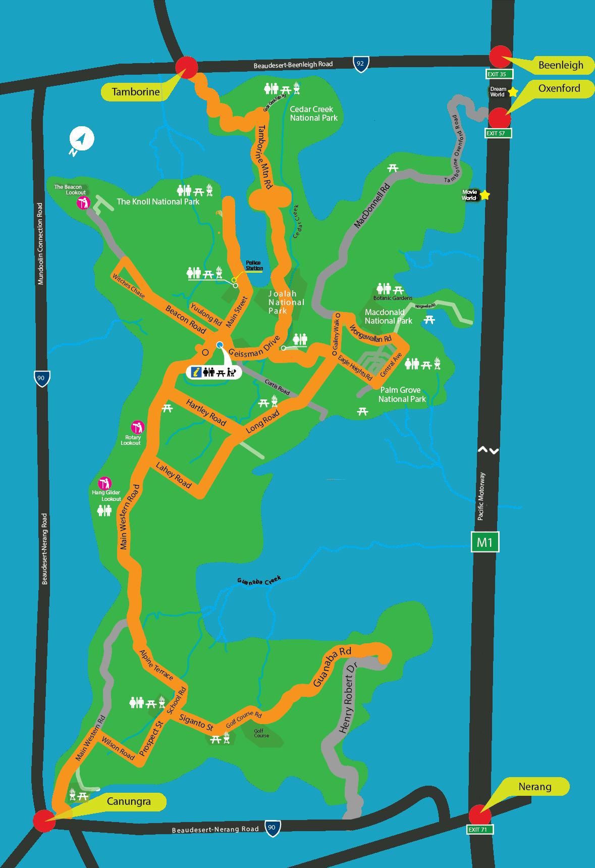 Scarecrow Festival Map