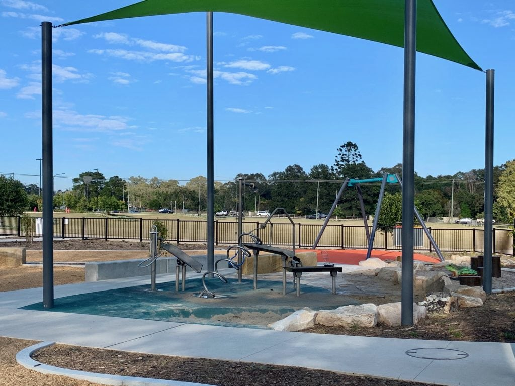Thornlands Community Park Water Play area