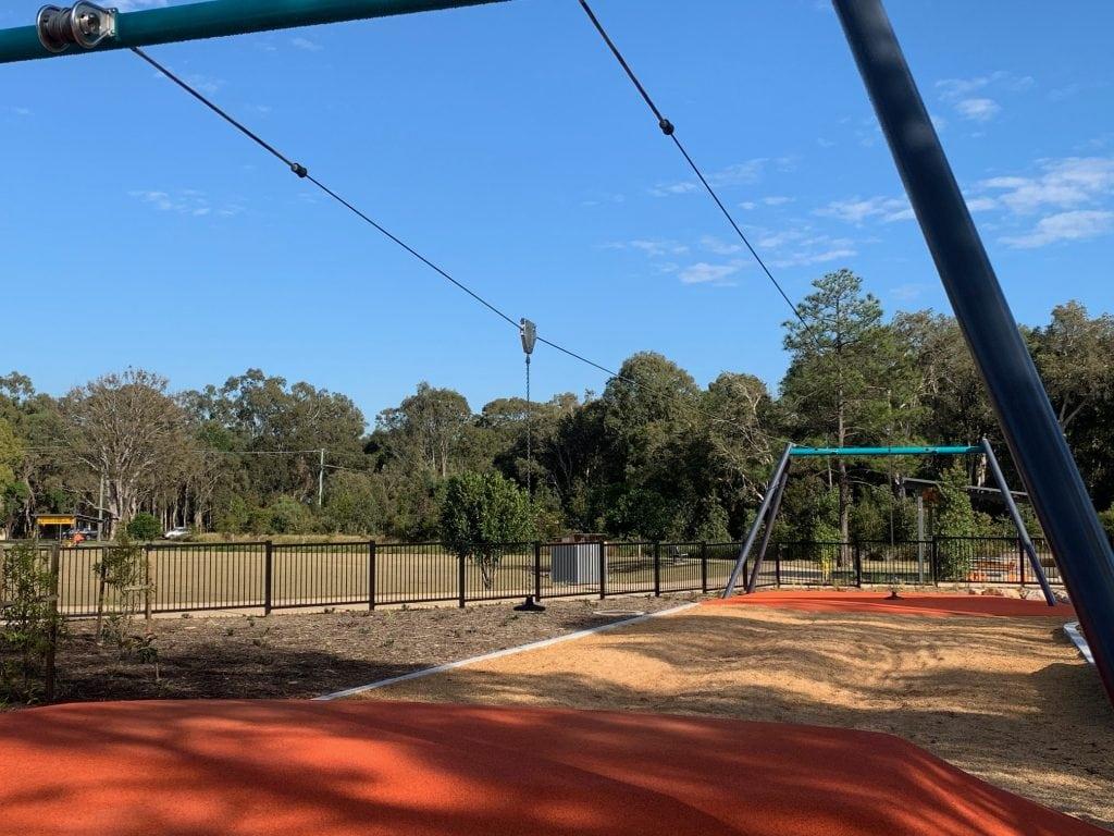 Thornlands Community park twin flying fox