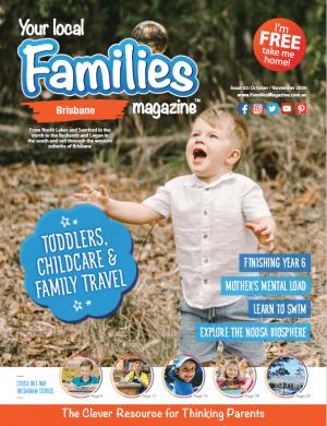 Families Magazine Brisbane Issue 42 cover