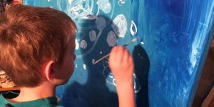 Creative Hearts Art Boy Painting