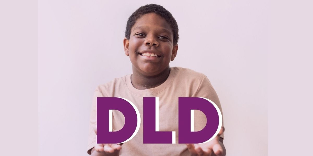DLD Awareness Day Boy holding up DLD