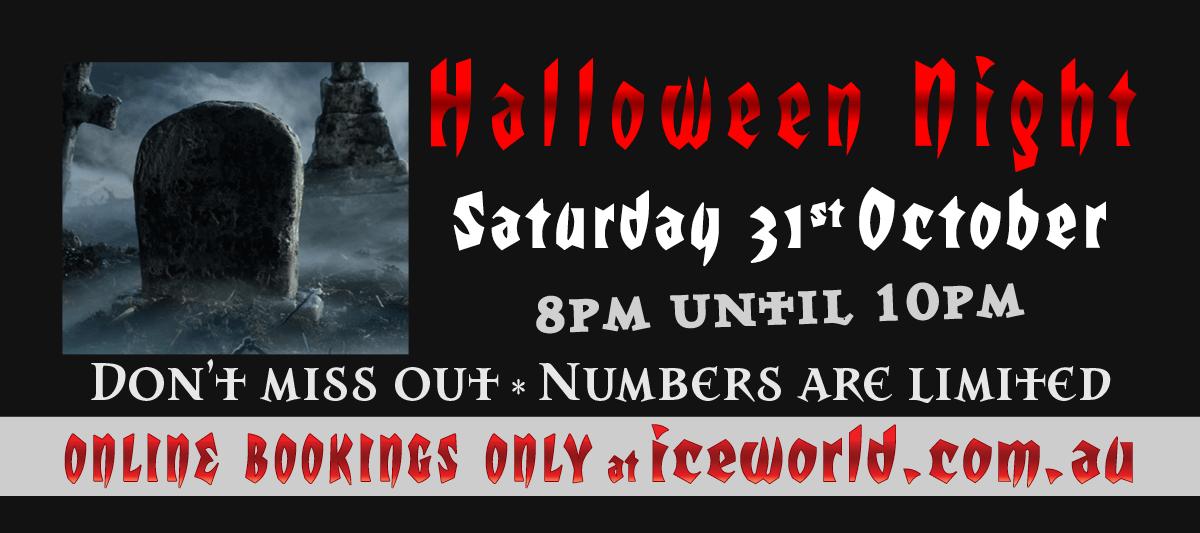 Halloween Night at Iceworld