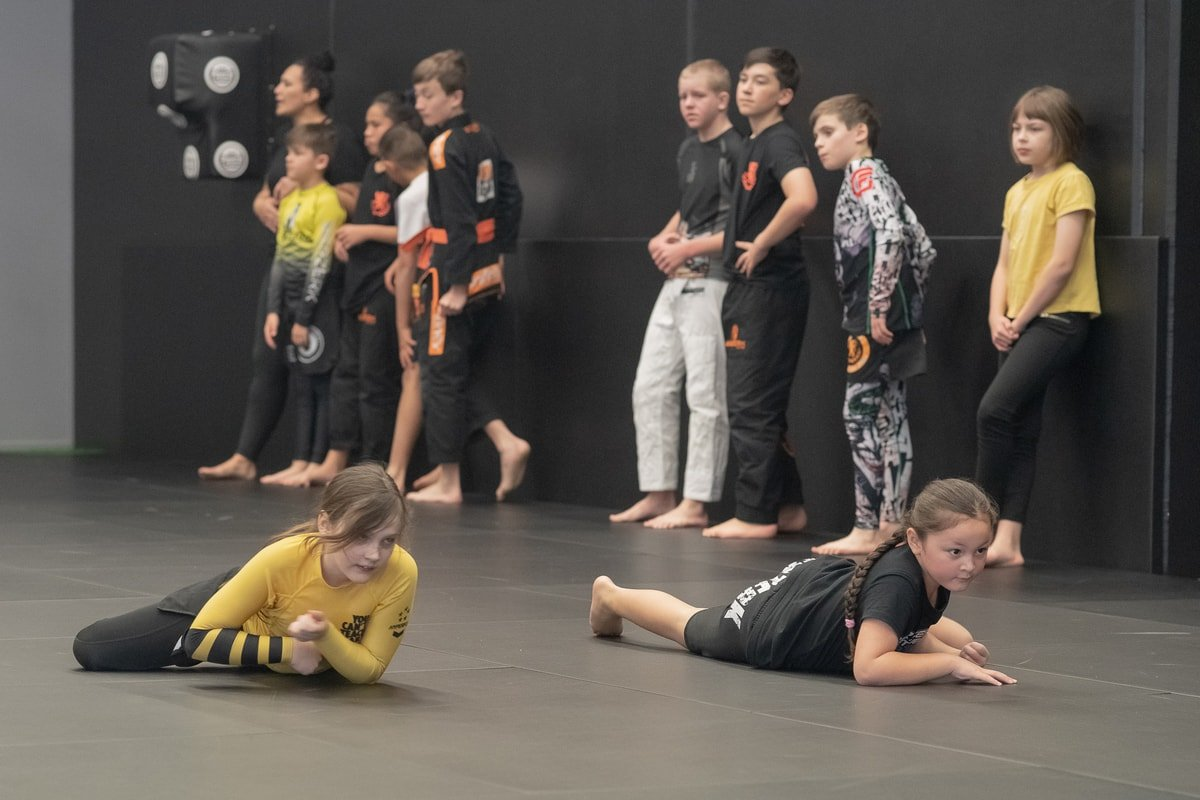 Infinity Martial Arts Kids Warm Up
