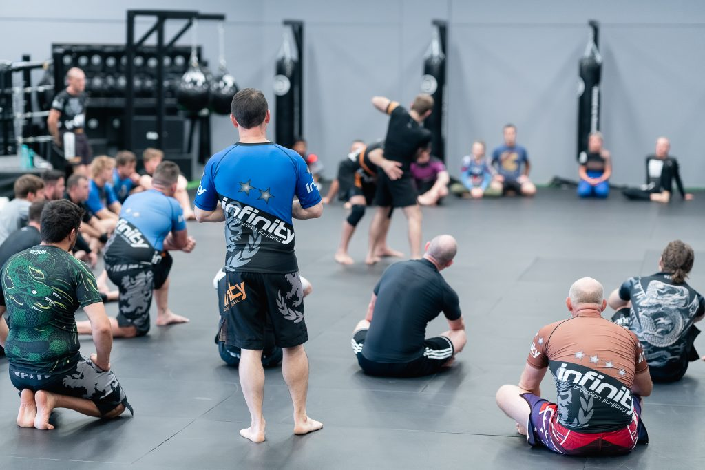 Infinity Martial Arts adults class