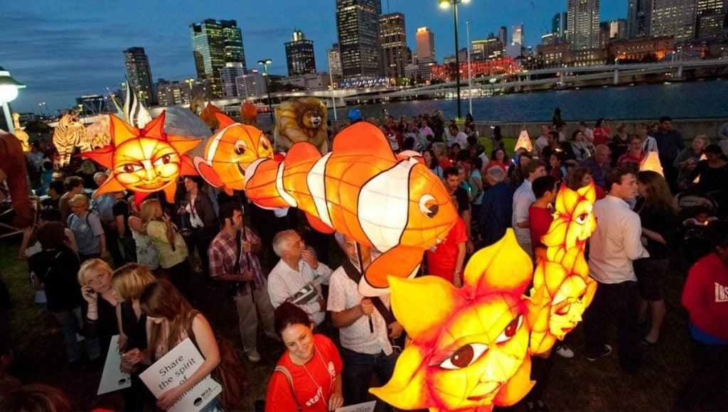 LUMINOUS Lantern Parade Brisbane Festival