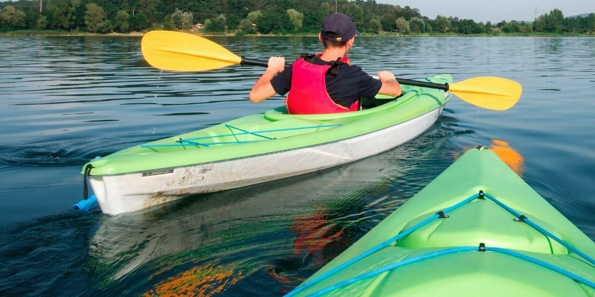 Lake Moogerah Kayaking