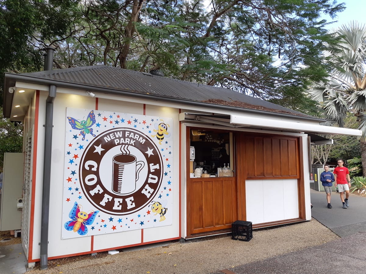 New Farm Park - Coffee Hut