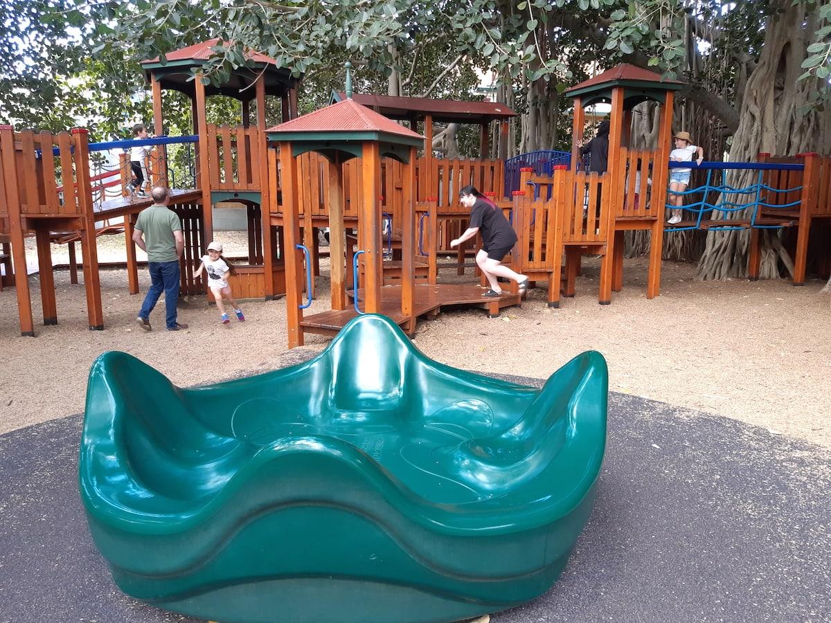 New Farm Park - carousel