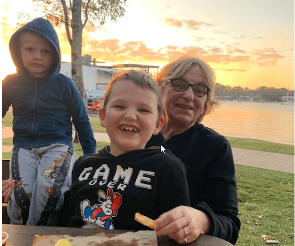 Finding help from grandparents