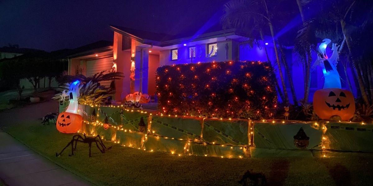 Wakerley Halloween House