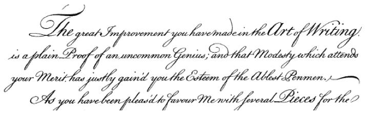 Cursive Handwriting quote