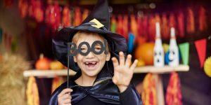 Brisbane boy at Halloween event