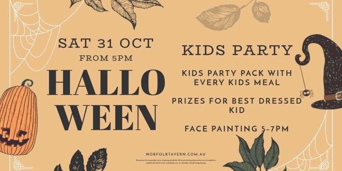 Kids Halloween Party Ormeau