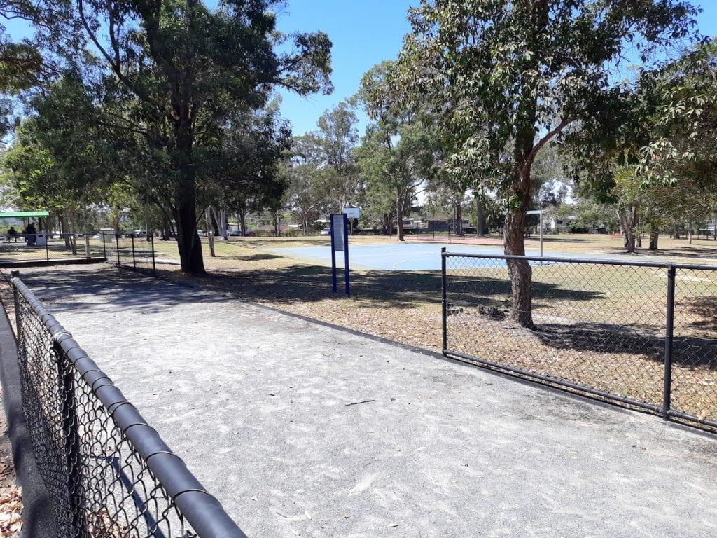 Logan Gardens Water Park -bocce