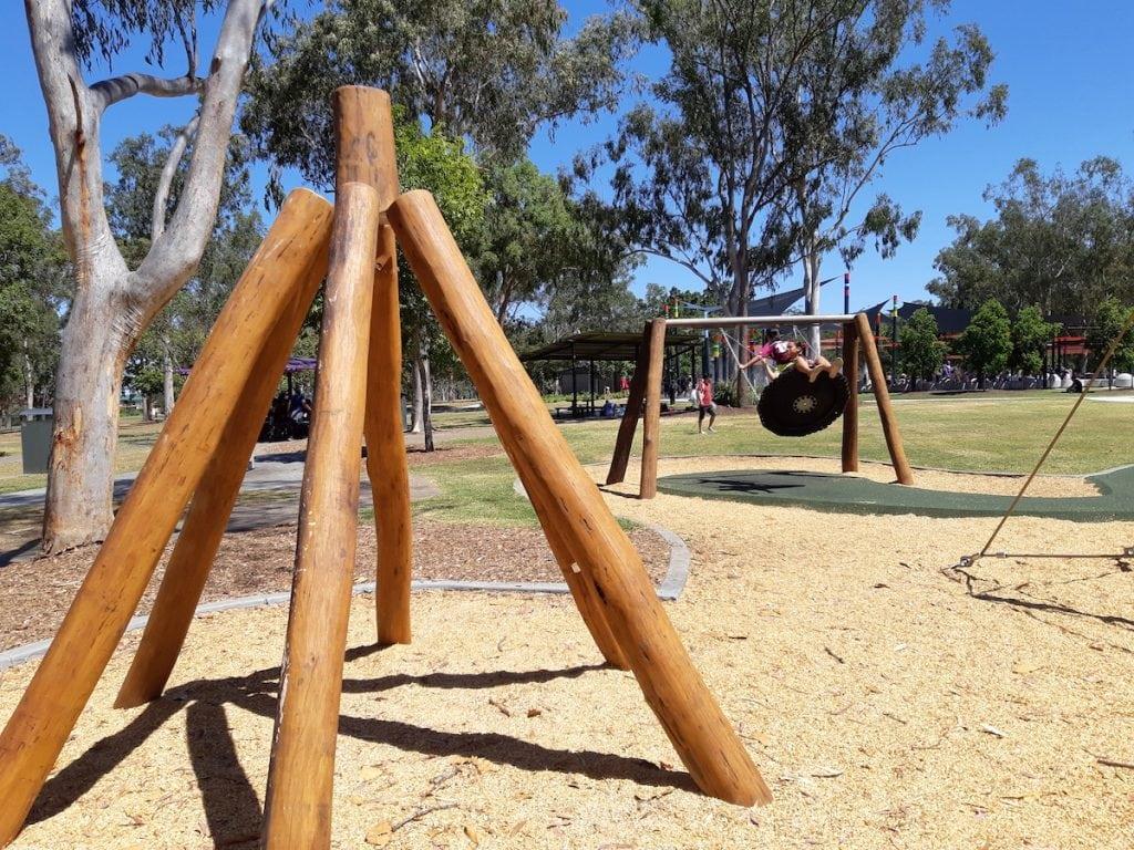 Logan Gardens Water Park - nature play
