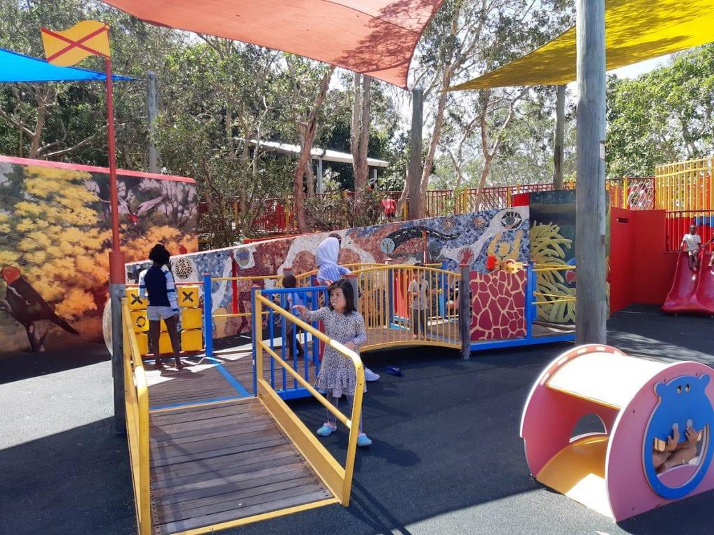 Logan Gardens Water Park - playground