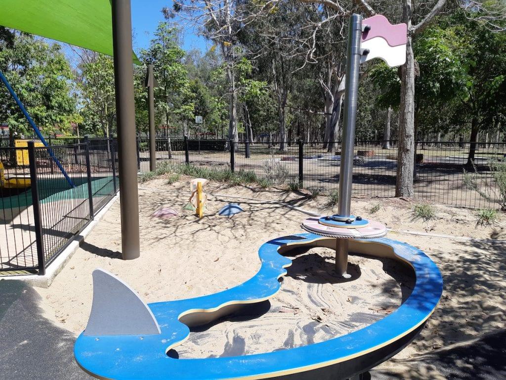Logan Gardens Water Park - sand play