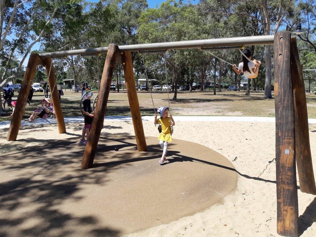 Logan Gardens Water Park - swing