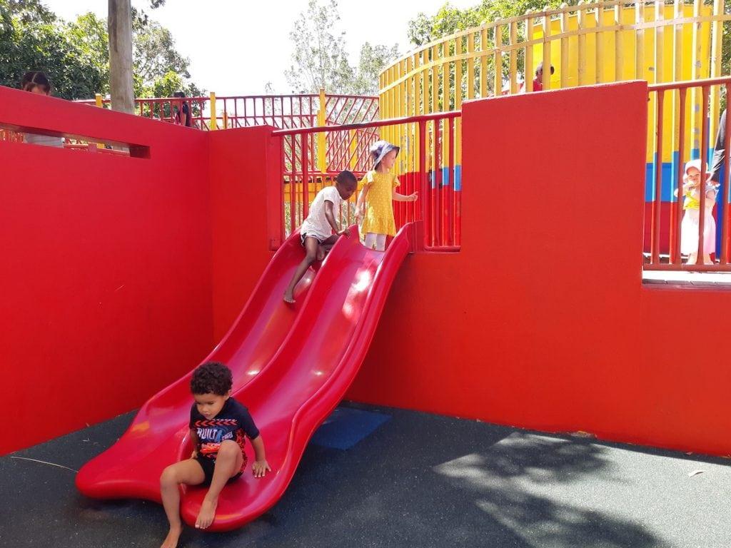 Logan Gardens Water park - slide