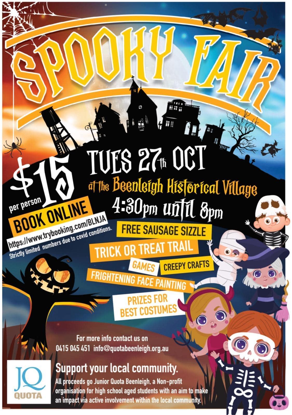 Spooky Fair Flyer