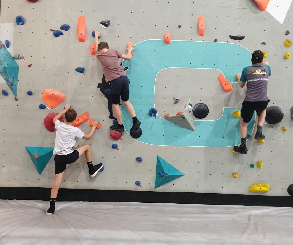Crank Climbing bouldering wall
