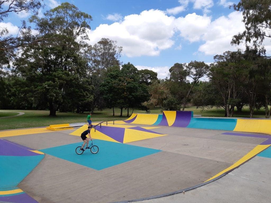 Albert River Park - skate park