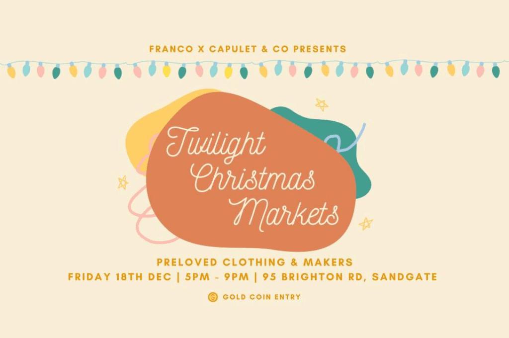 Christmas Twilight Market Sandgate