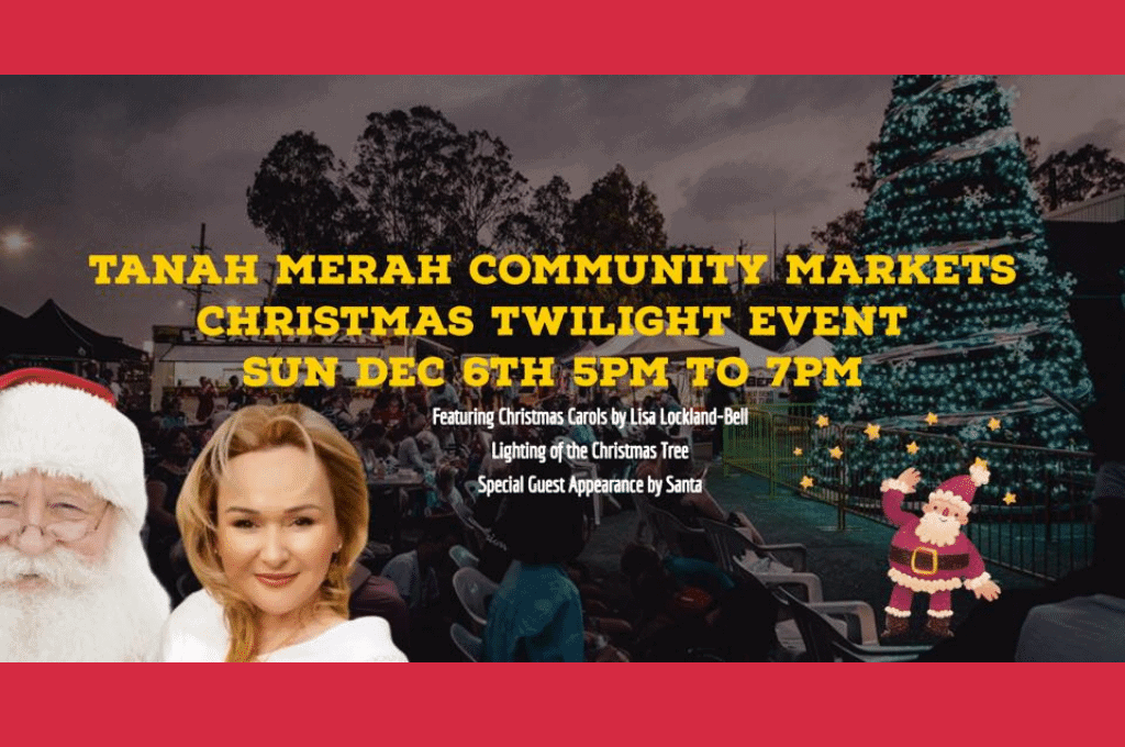 Christmas Twilight Markets Tanah Merah