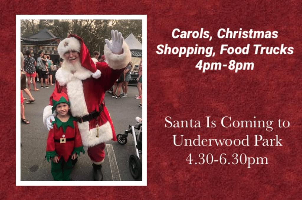 Community Christmas Carols Underwood Park