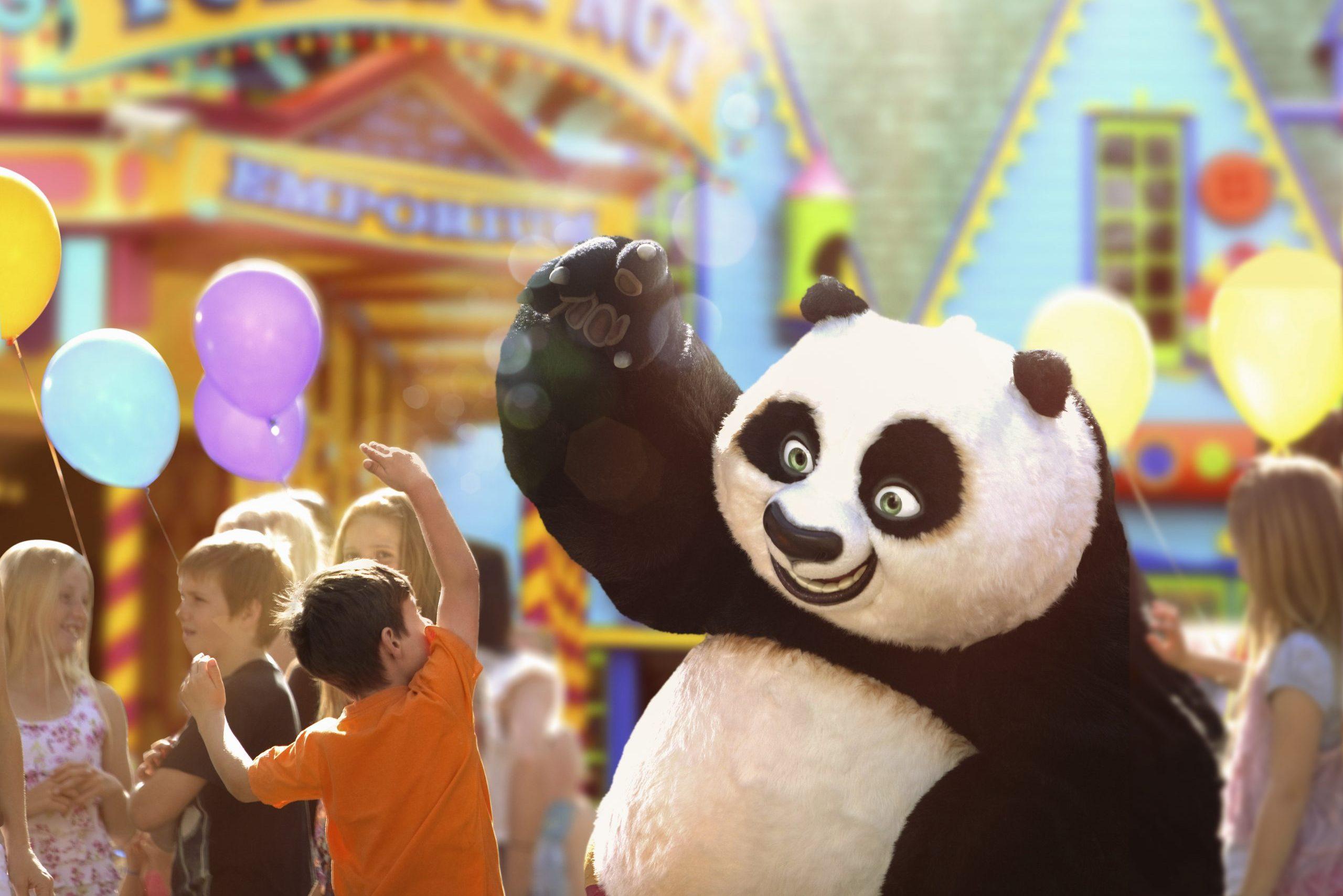 Kung Fu Panda at Dreaworks Experience