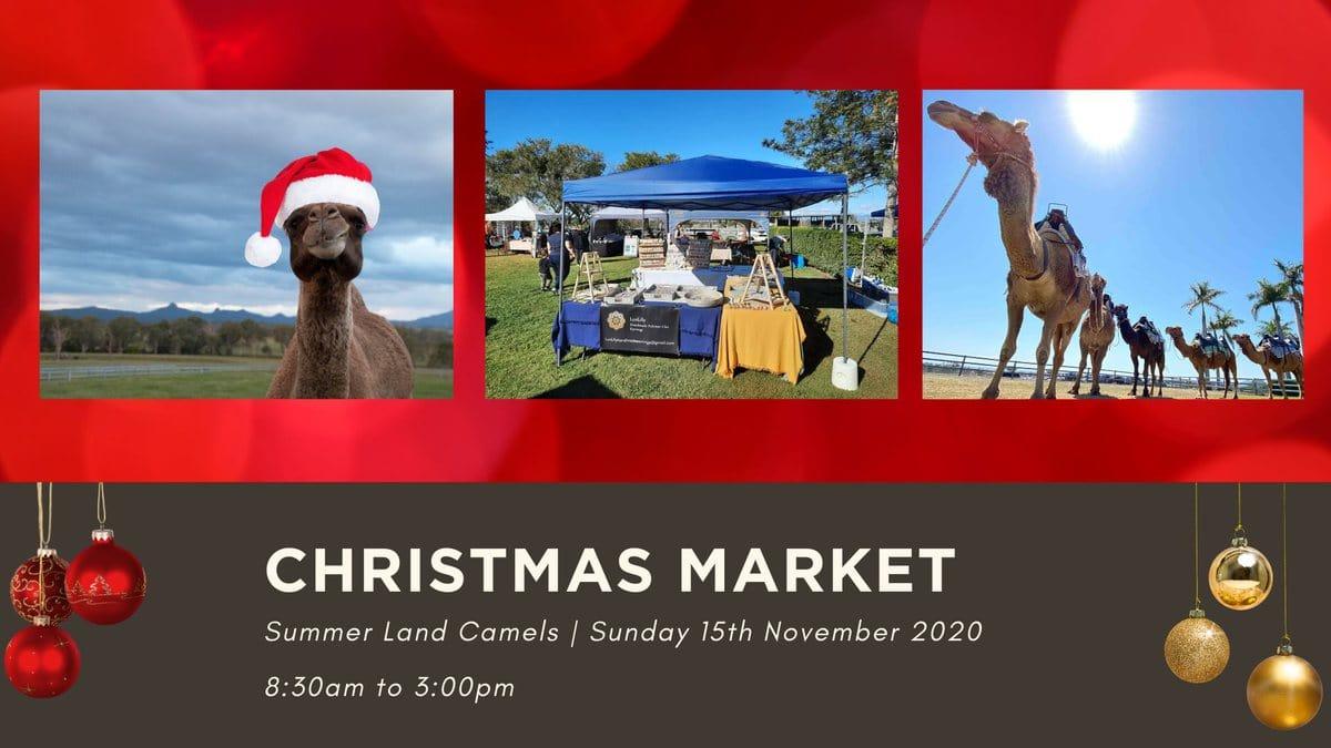 christmas markets at summer land camels