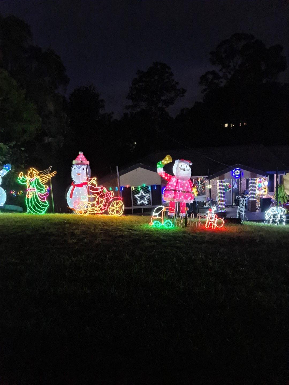 best xmas lights petrie Brisbane