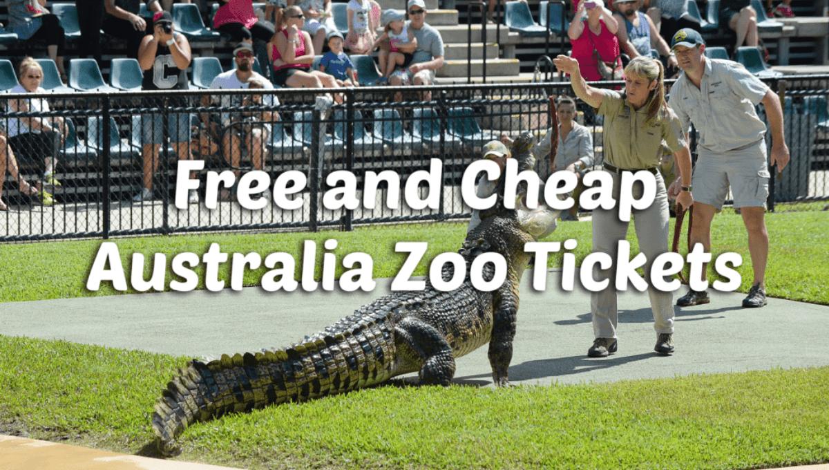 discount Australia Zoo tickets