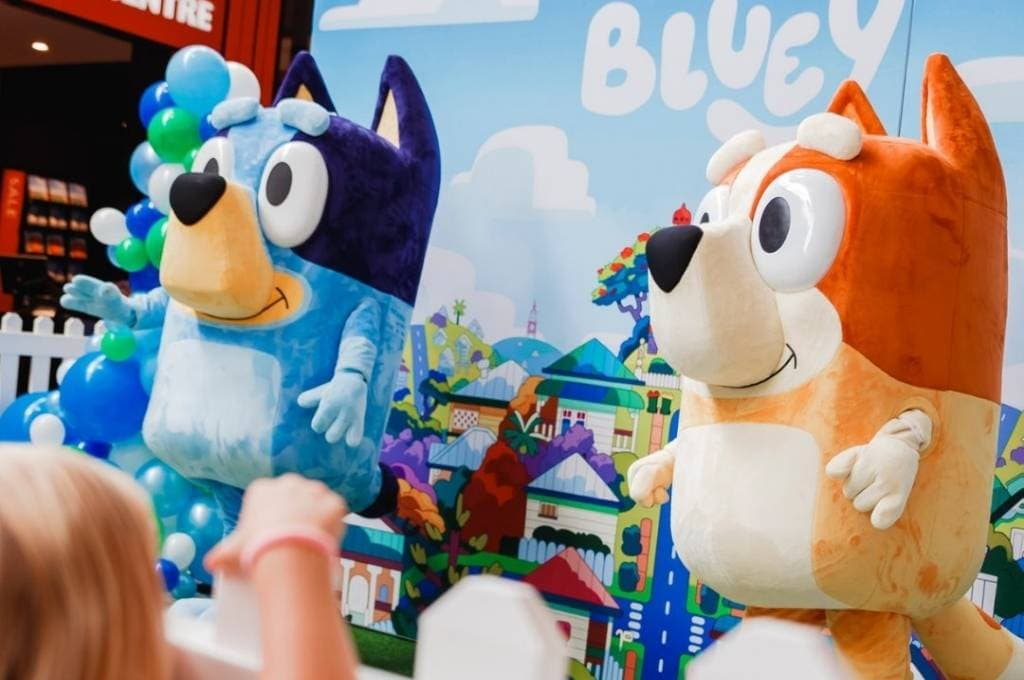 Bluey and Bingo LIVE at Dreamworld