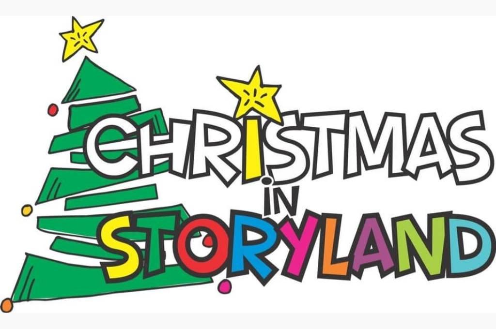 Christmas in storyland banner