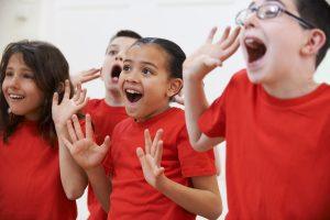 Drama Works Academy kids performing