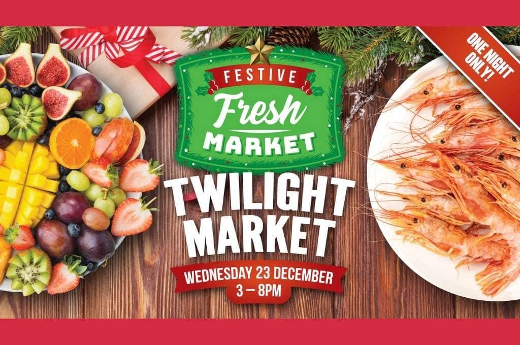 Festive Fresh Market Rocklea Banner