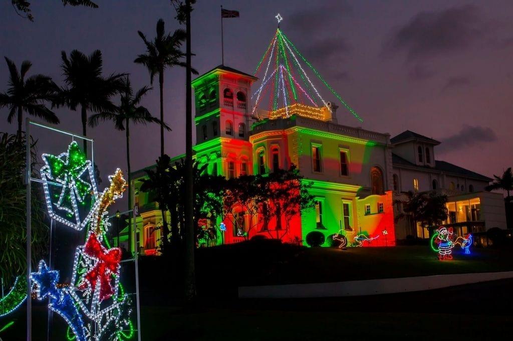 Government House Christmas Lights