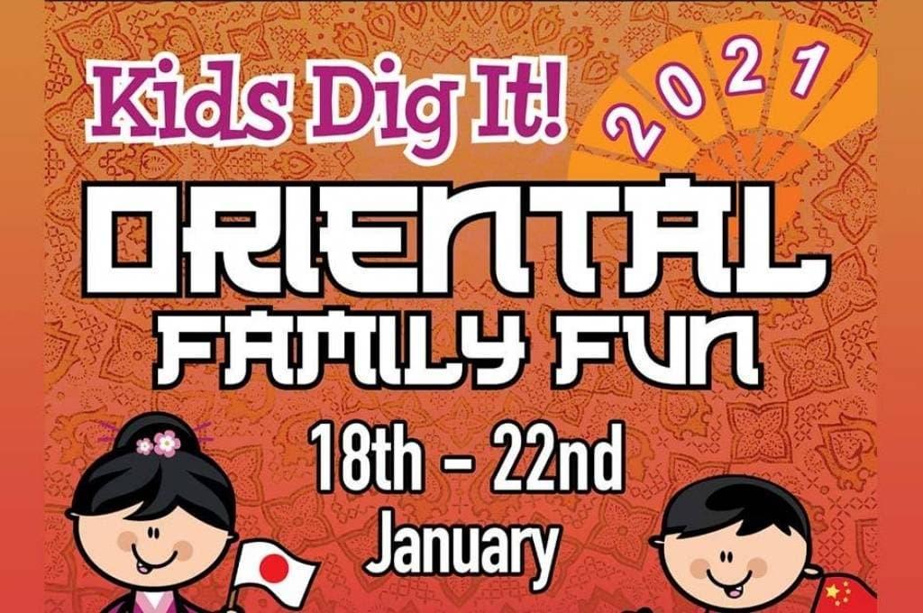 Kids Dig It Oriental Family Fun