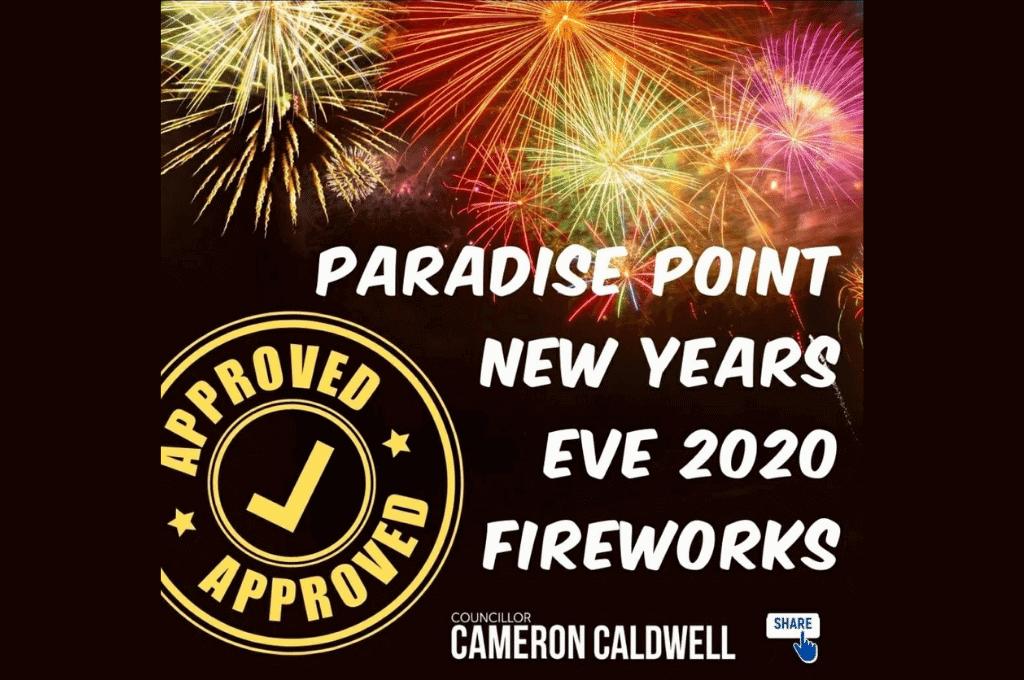 Paradise Point Fireworks